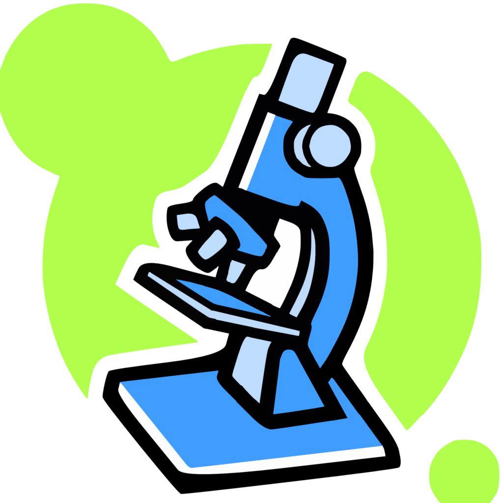 Иллюстрация микроскопа
